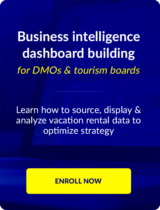 Dashboard Building for DMOs and tourism organizations